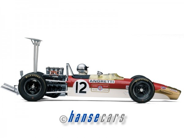 Exoto Lotus Ford Type 49B 1968 Pole, 1968 United States Grand Prix Mario Andretti