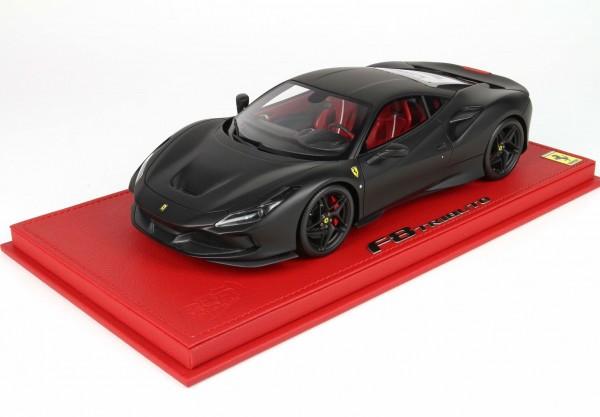 BBR Ferrari F8 Tributo Genf 2019 matt black 1/18 Limited Edition 16 Stück