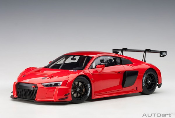 Auto Art Audi R8 LMS Plain Body Version - red