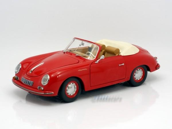 Schuco Classic Porsche 356 A Cabrio rot 1:18