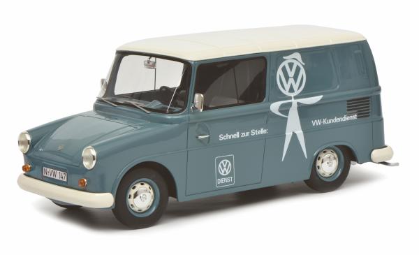 Schuco PRO.R18 VW Fridolin Kundendienst 1:18