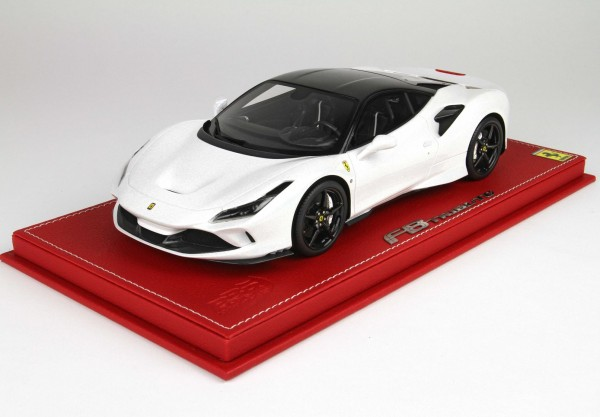 BBR Ferrari F8 Tributo Metal White Dach new black daytona metal Limited Edition 16 1/18