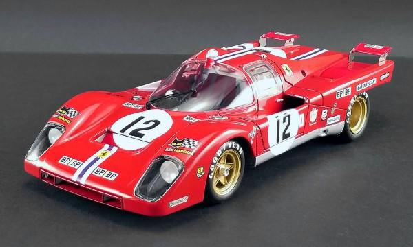 ACME Ferrari 512 M 1971 Le Mans #12 S. Posey - T. Adamowicz 1/18