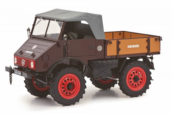 Schuco MB Unimog U401 rot 1:18 Limited Edition 1000