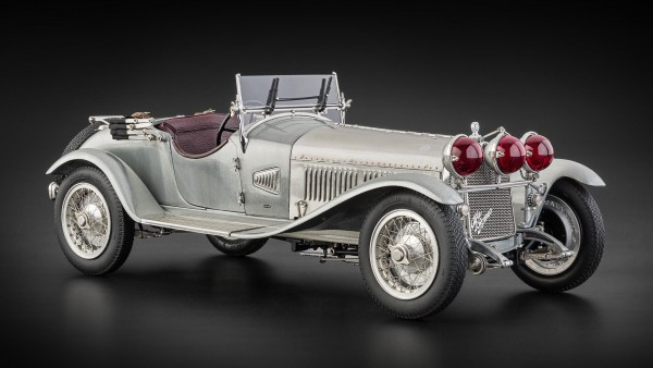 CMC Alfa Romeo 6C 1750 GS, 1930 Clear Finish Version Limited Edition 1.000 Stück