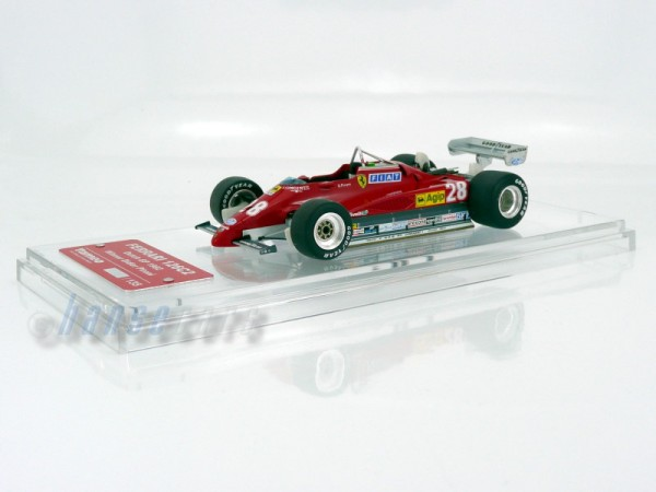 Tameo Ferrari 126C2 Ferrari 126 C2 GP Dutch 1982 Winner Didier Pironi Limited Edition