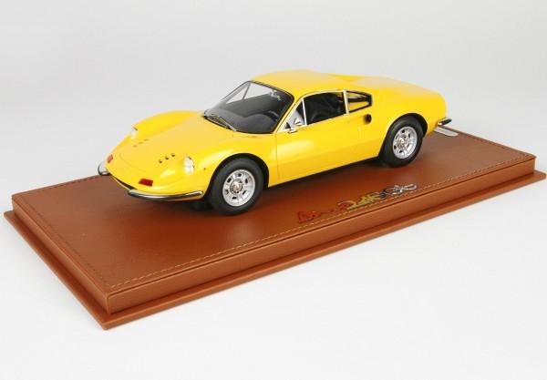 BBR Ferrari Dino 246 GT TIPO 607L 1969 Giallo Limited Edition 60