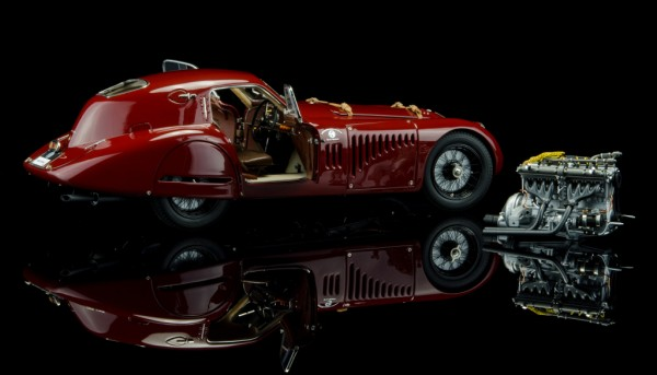 CMC Alfa Romeo 8C 2900B, 1938 Speciale Touring Coupe Scale 1:12 Limited Edition 300 Stück
