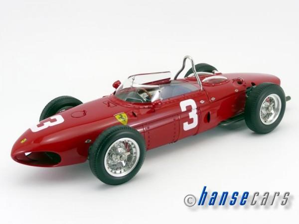 CMC Ferrari Dino 156 F1 Sharknose #3 Wolfgang Graf Berghe von Trips Nürburgring 1961