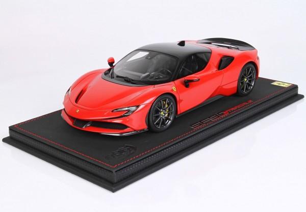 BBR Ferrari SF90 Stradale Pack Fiorano Rosso Corsa Limited Edition 20 1/18