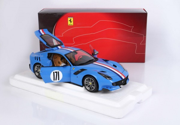 BBR Ferrari F12 TDF Tailor Made One Off 1/18