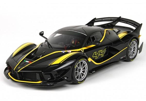 BBR Ferrari FXXK-EVO DIE CAST Nero Lucido #44 1/18