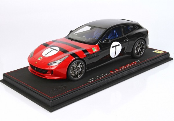 BBR Ferrari GTC4 Lusso T Rosso Corsa 322 and black 1/18 Limited Edition 48