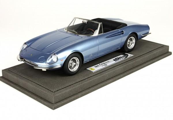 BBR Ferrari 365 California S/N 09889 blau1966 1/18 Limited Edition 200