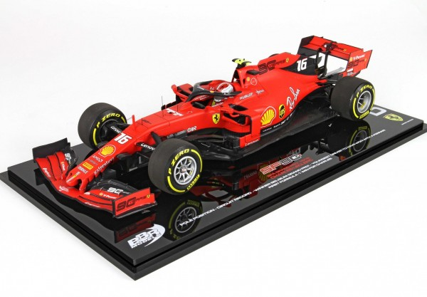 BBR Ferrari SF90 Belgium Gran Prix 2019 Charles Leclerc 1/18 Limited Edition 200