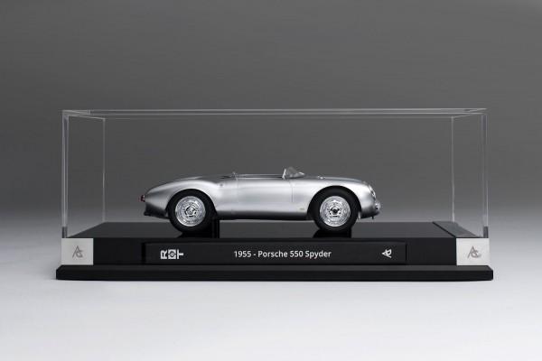 Amalgam Porsche 550 Spyder 1:18