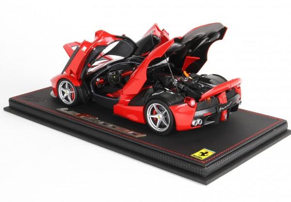 BBR Ferrari LaFerrari Rosso Corsa 322 1/18 Special Base