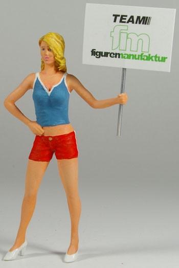 figurenmanufaktur Figur 1:18 Gridgirl Niki