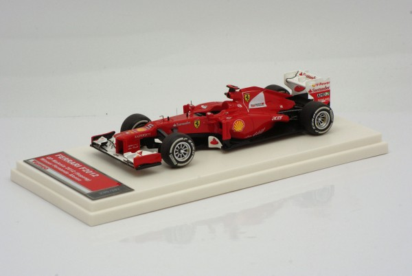 Tameo Ferrari F2012 GP Malaysia 2012 Sieger Fernando Alonso 1:43