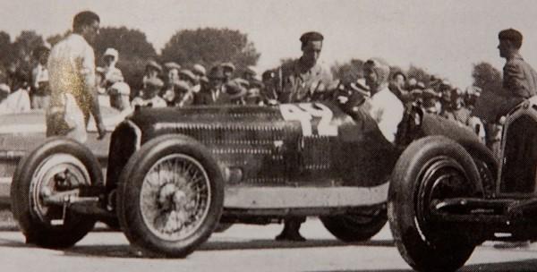 CMC Alfa Romeo P3 Chiron, Gewinner GP Marseille 1933, #42 Limited Edition 1000