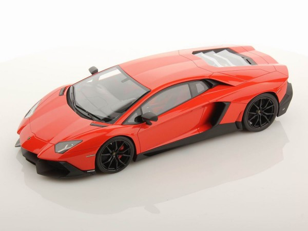 MR MODELS Lamborghini Aventador LP 720-4 50th Anniversary 1/18 ARANCIO ARGOS