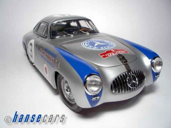 CMC Mercedes 300SL 1952 Carrera Panamericana Mexico 2nd #3 Hermann Lang Limited Edition 3.000 Stück