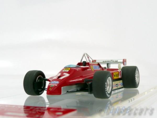 Tameo Ferrari 126C2 F1 GP San Marino 1982 car#27 Gilles Villeneuve Limited Edition