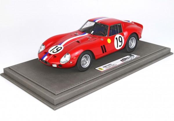 BBR Ferrari 250 GTO 24H Le Mans 1962 SN 3705 GT Limited Edition 500 1/18