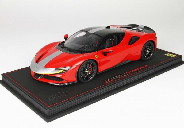 BBR Ferrari SF90 Stradale Pack Fiorano Rosso Corsa 322 1/18
