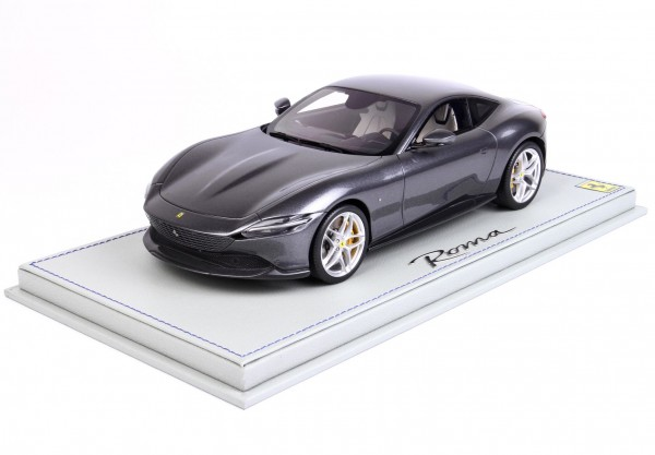 BBR Ferrari Roma Grigio Titanio 740 Limited Edition 36 1/18