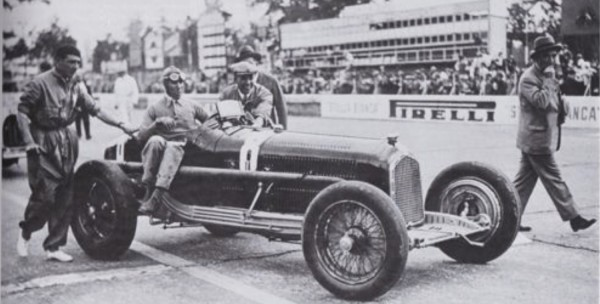 CMC Alfa Romeo P3 Nuvolari, Gewinner GP Italien 1932, #8
