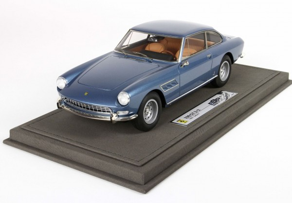 BBR Ferrari 330 GT 2+2 Series 2 1965 Single light blue metal light 1/18 Limited Edition 133
