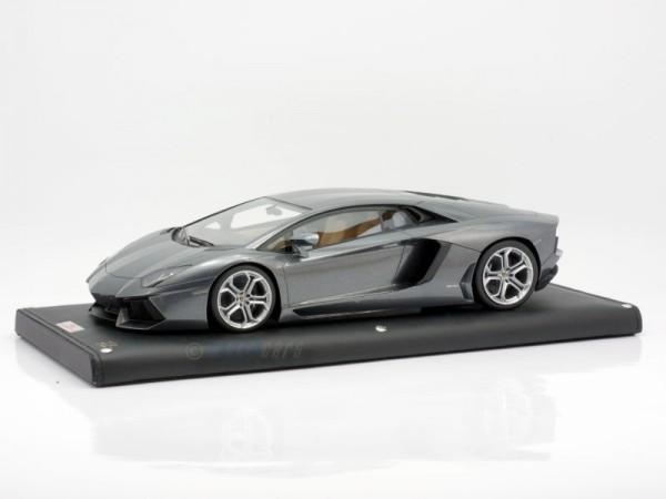 MR Models Lamborghini Aventador LP 700-4 GRIGIO ESTOQUE