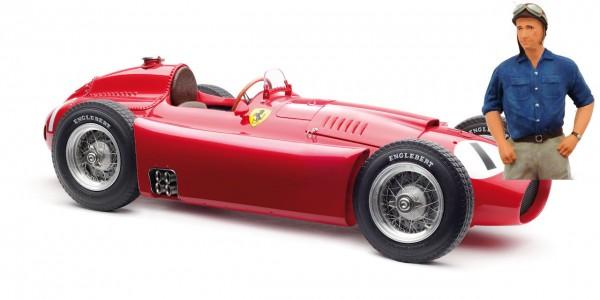 CMC Ferrari D50, 1956 GP England #1 Fangio mit Figur