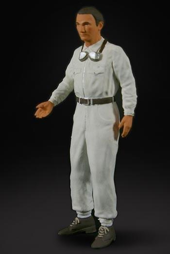 figurenmanufaktur Figur 1:18 Hermann Lang ,Rennfahrer