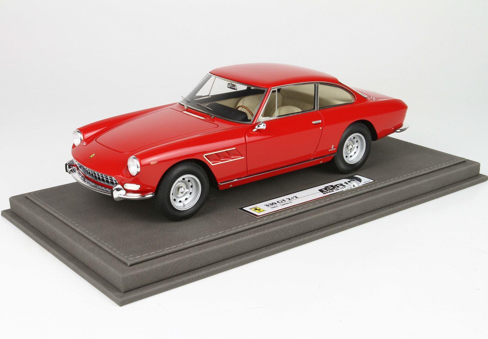 Bbr Ferrari 330 Gt 2 2 Series 2 1965 Single Light Rosso Corsa 300 1 18 Limited Edition 133 Hansecars Modellautos Hansecars Exklusive Sammlermodelle
