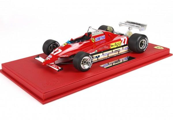 BBR Ferrari 126C2 GP Belgio 1982 Gilles Villeneuve 1/18 Limited Edition 300