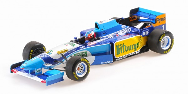 Minichamps Benetton Renault B-195 M. Schumacher Winner Monaco 1995 1/18
