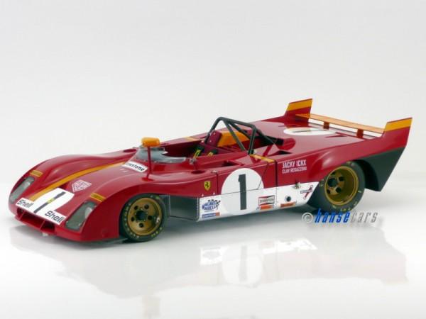 GMP Ferrari 312 PB Ferrari 312 PB #1 Ickx - Regazzoni Monza ueber 750 Einzelteile Regazzoni - Ickx
