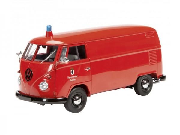 Schuco VW T1 Kasten FEUERWEHR BERLIN Limited Edition 1.000 1:18