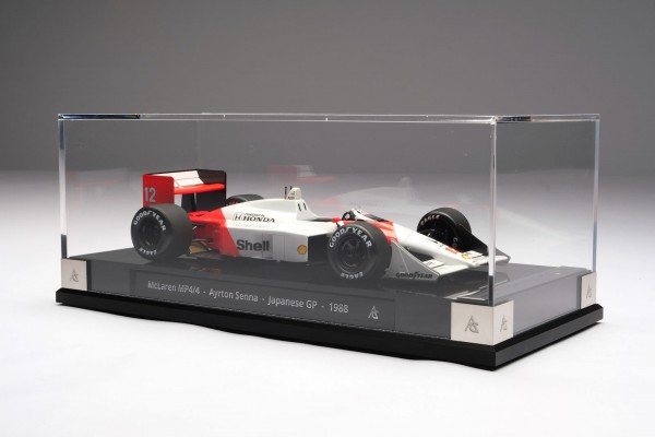 Amalgam McLaren MP4/4 Ayrton Senna #12 GP Japan 1988 1:18