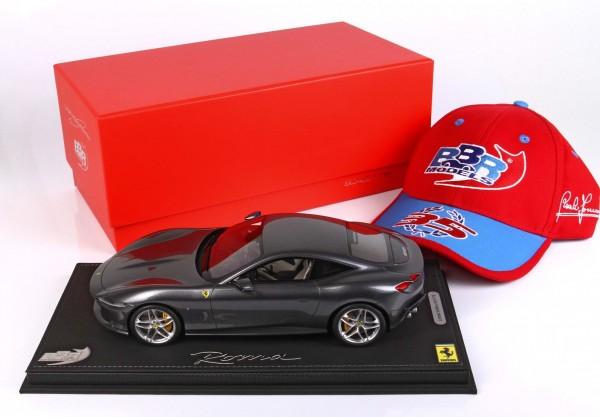 BBR Ferrari Roma Grigio Titanio Limited Edition 176 1/18