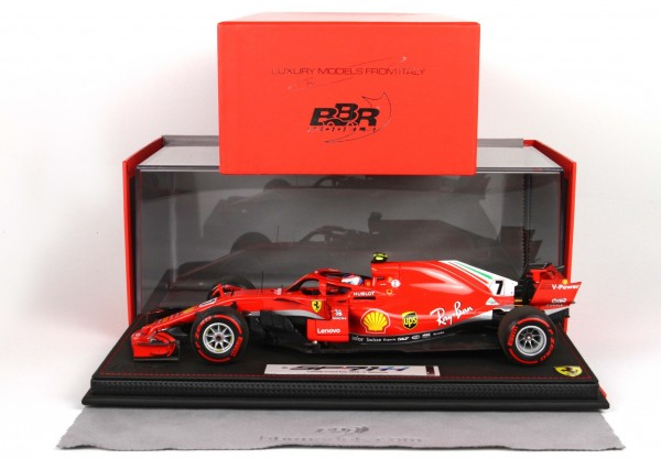 BBR Ferrari SF71-H GP Canada Montreal 2018 KIMI RÄIKKÖNEN with display case Limited Edition-100pcs