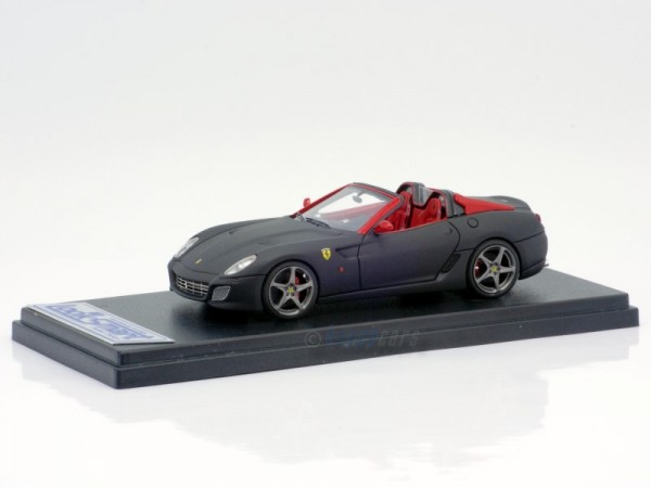 Looksmart Ferrari SA Aperta Matt Black/Red Limited Edition 50 1:43