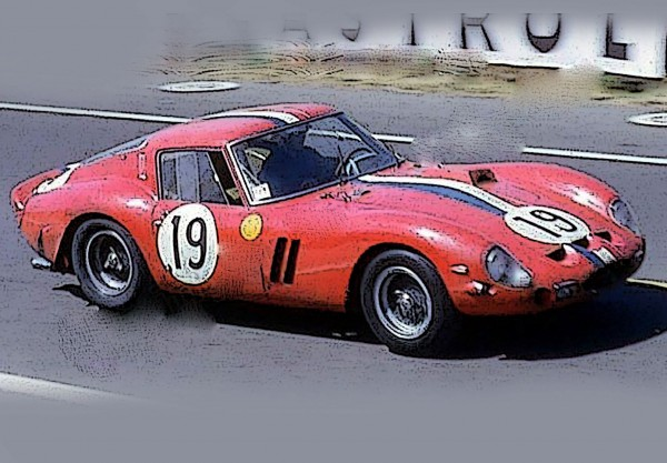BBR Ferrari 250 GTO 24H Le Mans 1962 SN 3705 GT Limited Edition 200 1/18