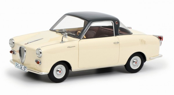 Schuco Goggomobil Coupe TS 250 beige-dunkelgrau 1:18 Limited Edition 500