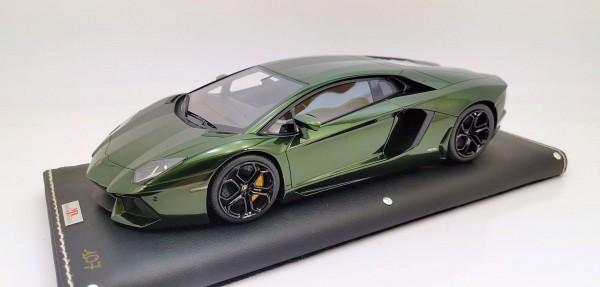 MR Models Lamborghini Aventador LP 700-4 VERDE PSYCHE