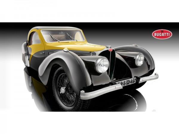 Bauer Bugatti Type 57 SC Atlante schwarz-gelb