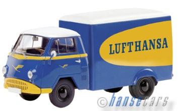 Schuco Tempo Matador Lufthansa Kastenwagen Limited Edition 1000