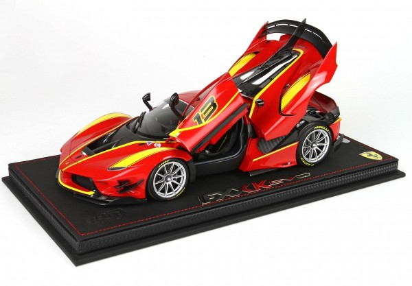 BBR Ferrari FXXK-EVO DIE CAST Rosso Corsa 322 #13 Limited Edition 48 1/18